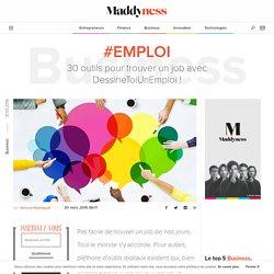 #Emploi : 30 outils pour trouver un job avec DessineToiUnEmploi !