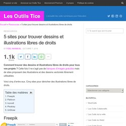 5 sites pour trouver dessins et illustrations libres de droits