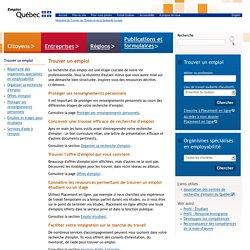 Trouver un emploi>Emploi-Québec
