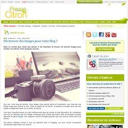 Trouver des images pour illustrer son blog