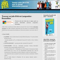 Trouver un job d'été en Languedoc-Roussillon