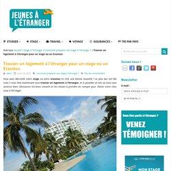 Trouver un logement à l'étranger (Stage-Erasmus)