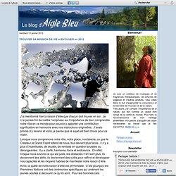 TROUVER SA MISSION DE VIE et EVOLUER en 2012