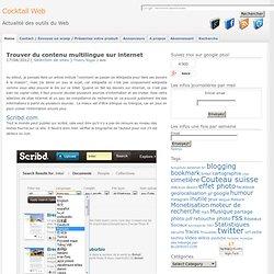 Trouver du contenu multilingue sur internet