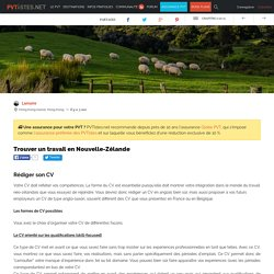 Trouver un travail en Nouvelle-Zélande - Page 9 of 15 - PVTistes.net