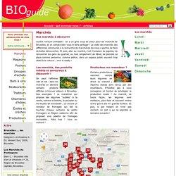 Au marché bio : où trouver des produits bio au marché à Bruxelles