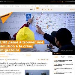 L'UE peine à trouver une solution à la crise migratoire