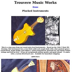 Trouvere Music Works