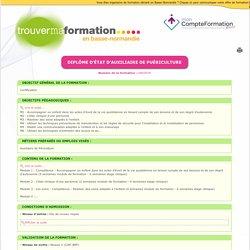 TrouverMaFormation - Fiche détaillée