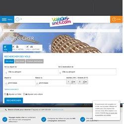 Vol pas cher : trouvez votre billet d'avion avec Voyages-sncf.com