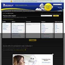 Trouvez votre emploi chez Michelin - Michelin recrutement / Accueil - Michelin - le recrutement en France