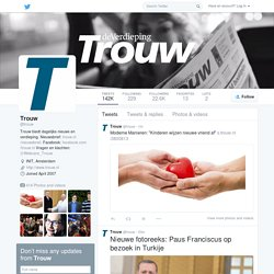 Trouw (trouw) on Twitter
