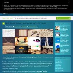 Dove trovare immagini da scaricare gratis per siti web