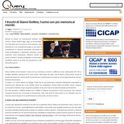 I trucchi di Gianni Golfera, l'uomo con più memoria al mondo