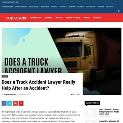Does a Truck Accident Lawyer Really Help After an Accident?