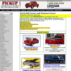 Truck Tonneaus and Truck Bed Covers
