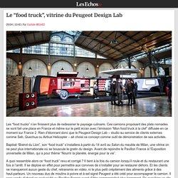 """Le """"food truck"""", vitrine duPeugeot Design Lab"""