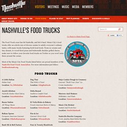 A full list of food trucks in Nashville, TN