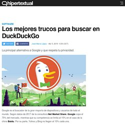 Trucos para buscar cualquier cosa en DuckDuckGo