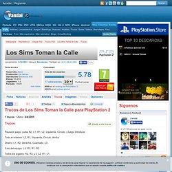 Trucos Los Sims Toman la Calle - PS2 - Claves, Guías