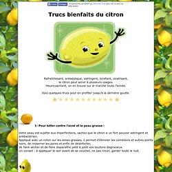 Trucs bienfaits du citron- Chez Maya
