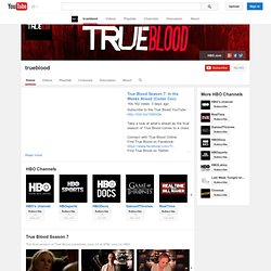 Official TrueBlood YouTube Channel