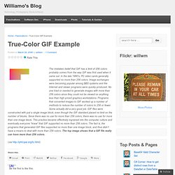 True-Color GIF Example « Williamo's Blog
