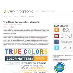 True Colors, Branded Colors