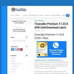Truecaller Premium 11.33.8 APK Gold Download