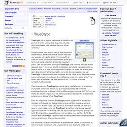 TrueCrypt - AntiVirus & Sécurité