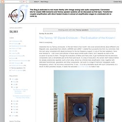 truefi: Tannoy speakers