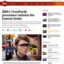 IBM's TrueNorth processor mimics the human brain