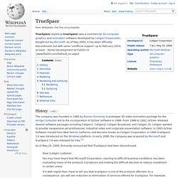TrueSpace - Wikipedia