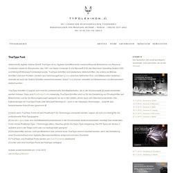 TrueType Font [ Vektorschrift, Outline-Schrift ]