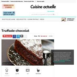 Truffade chocolat, facile