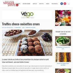 Truffes choco-noisettes crues