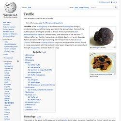 WIKIPEDIA - page truffle