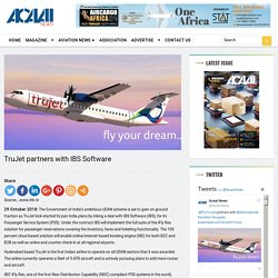 TruJet partners with IBS Software