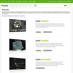 Real Estate Search - Trulia Explore