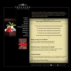 Truluck's » Seafood Steak & Crab House
