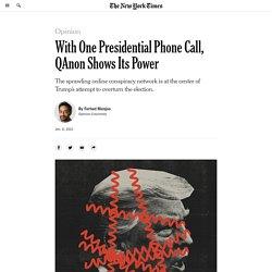 Trump's Georgia Call Was Brought to You by Q
