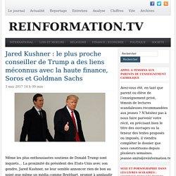 Trump: Jared Kushner a des liens méconnus avec la haute finance