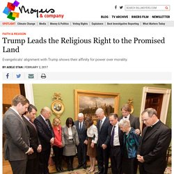 Trump Leads the Religious Right to the Promised Land