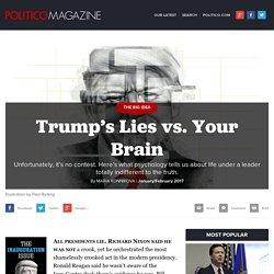 Trump's Lies vs. Your Brain