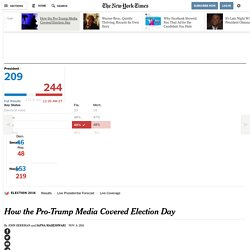 How the Pro-Trump Media Covered Election Day