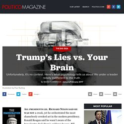 Trump's Lies vs. Your Brain