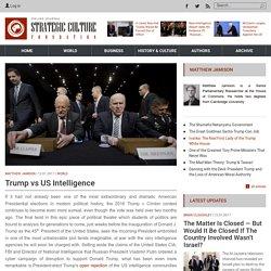 Trump vs US Intelligence