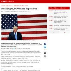 Mensonges, trumperies et politique
