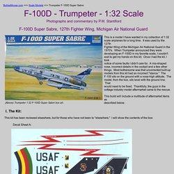 Trumpeter F-100D Super Sabre 1:32 Scale