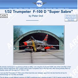 """1/32 Trumpeter F-100 D """"Super Sabre"""" by Peter Doll"""